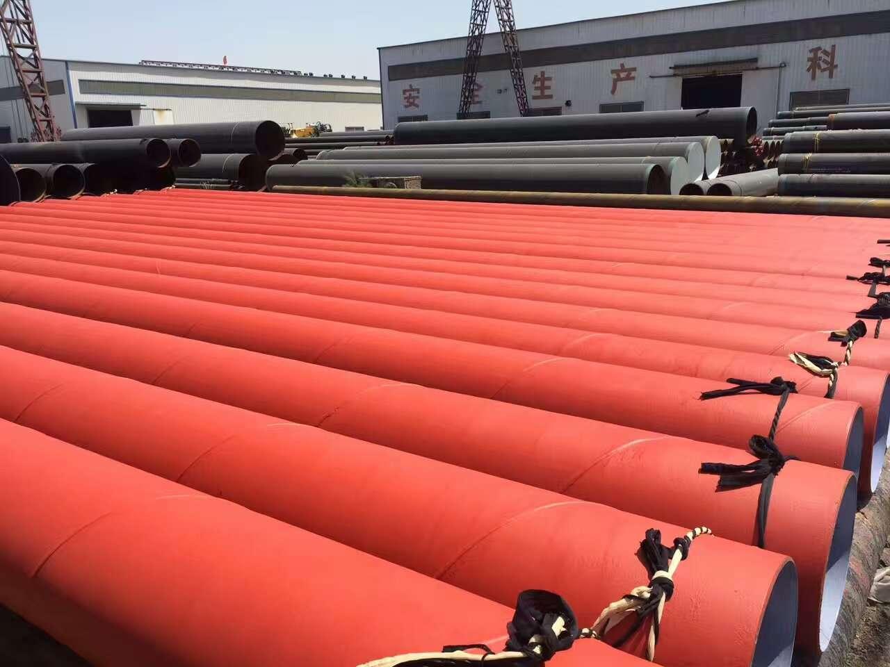 外壁环氧粉末钢管厂家-直销-钢套钢保温直埋钢管-20#防腐无缝钢管