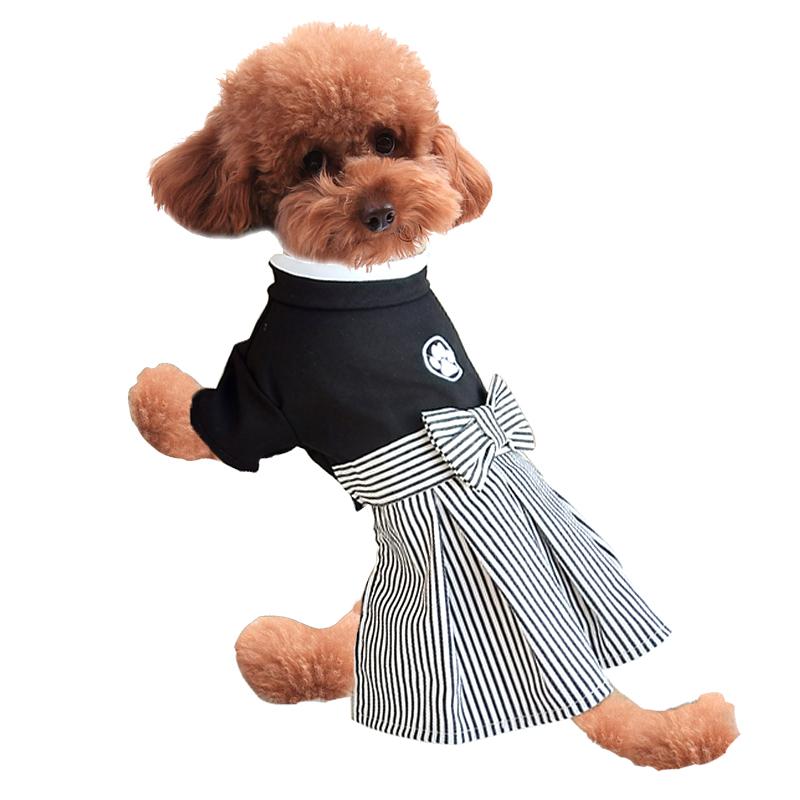 新款狗狗衣服 日本和服裙子 狗狗情侣装 供应宠物衣服日本和服裙子