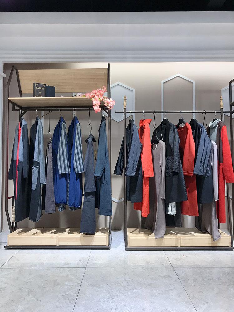棉麻单品 译然18冬装 原创设计师品牌女装尾货工厂直供货源