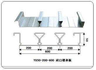 天津宝骏闭口楼承板YXB48-200-600特价批发 | YXB48-200-600楼承板