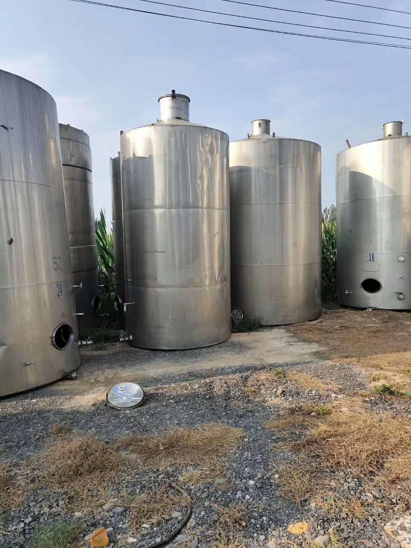 供应不锈钢储罐 不锈钢储罐规格5-----100立方各型号齐全 浩通不锈钢储罐批发