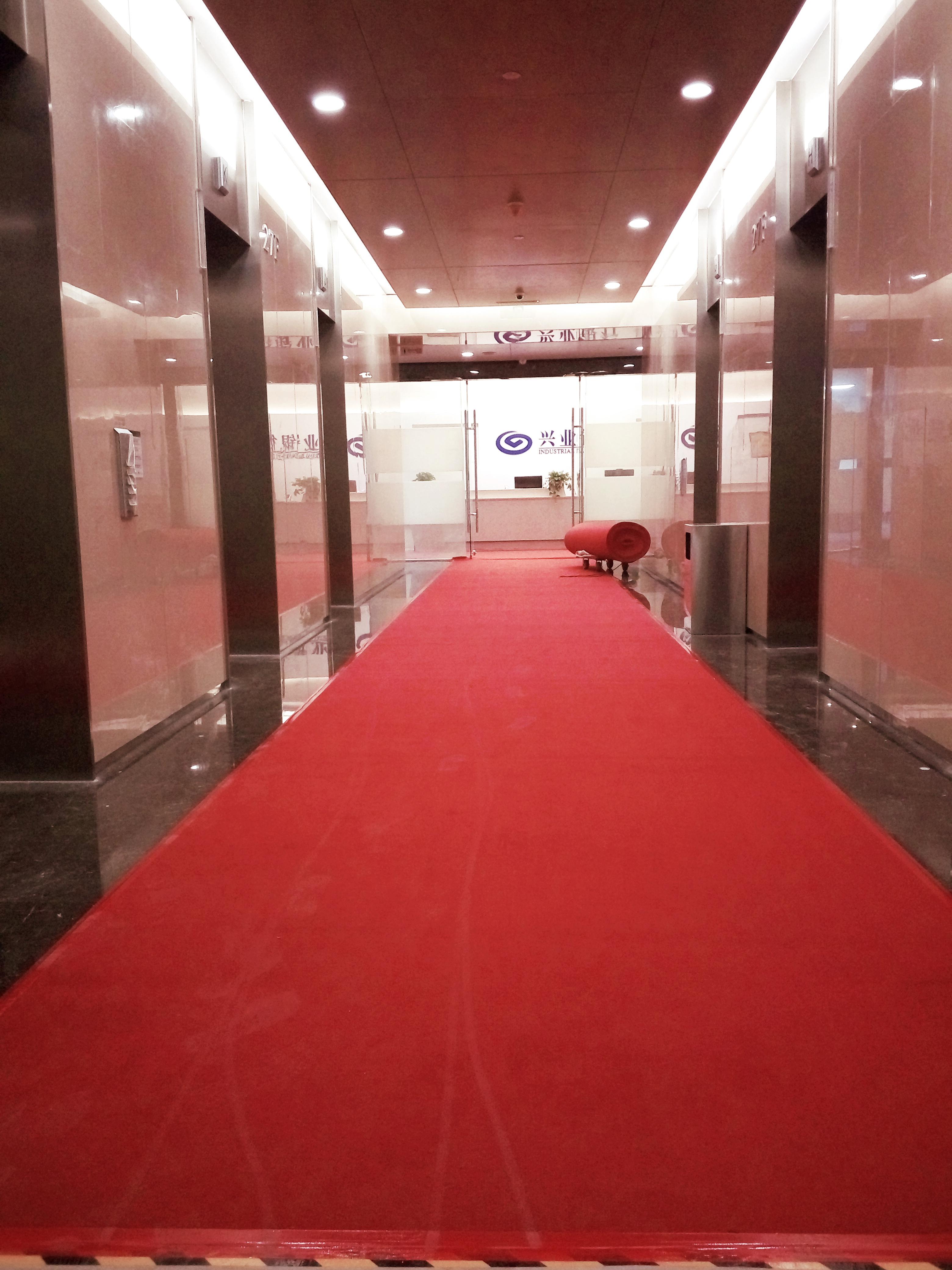 广西南宁美饰地毯   展会婚庆一次性红地毯15994464591