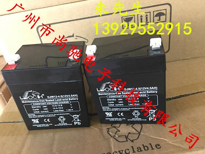 巨人通力电梯配件 轿顶应急电源电瓶 理士蓄电池 12V DJW12-4.5电池