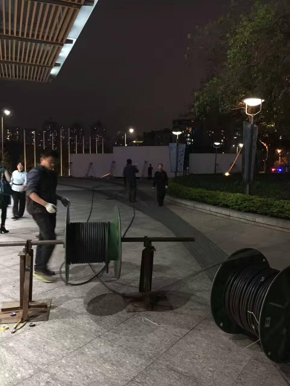 宜昌灯会电缆出租宜昌灯饰节临时用电240平电缆出租