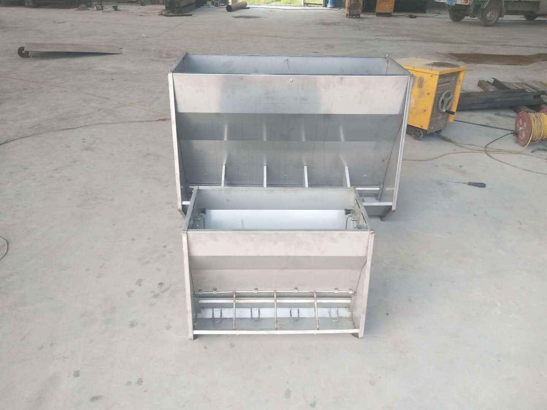 采食槽不锈钢料槽保育双面面料槽