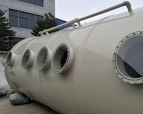 10000风量酸洗塔_专业生产酸雾净化塔各类pp环保设备