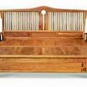 红木家具新中式床 床头柜组合非洲花梨木卧室家具 双人床刺猬紫檀 厂家批发销售实木大床厂家