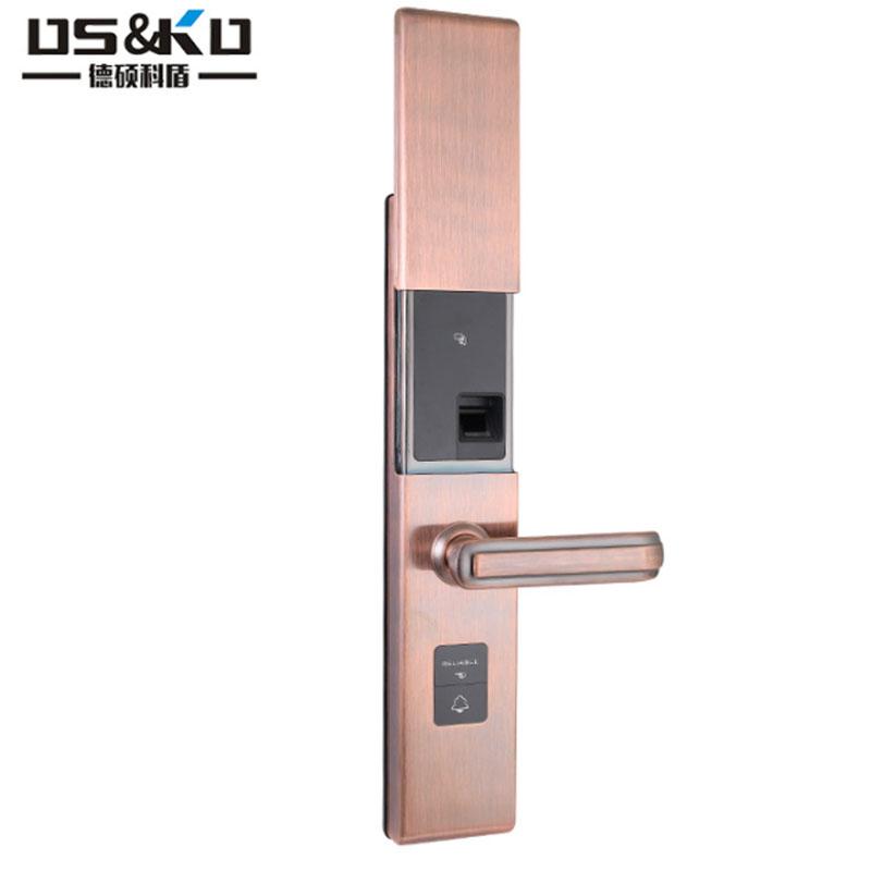 工厂直销指纹密码门锁 C级锁芯可组合公寓智能门锁