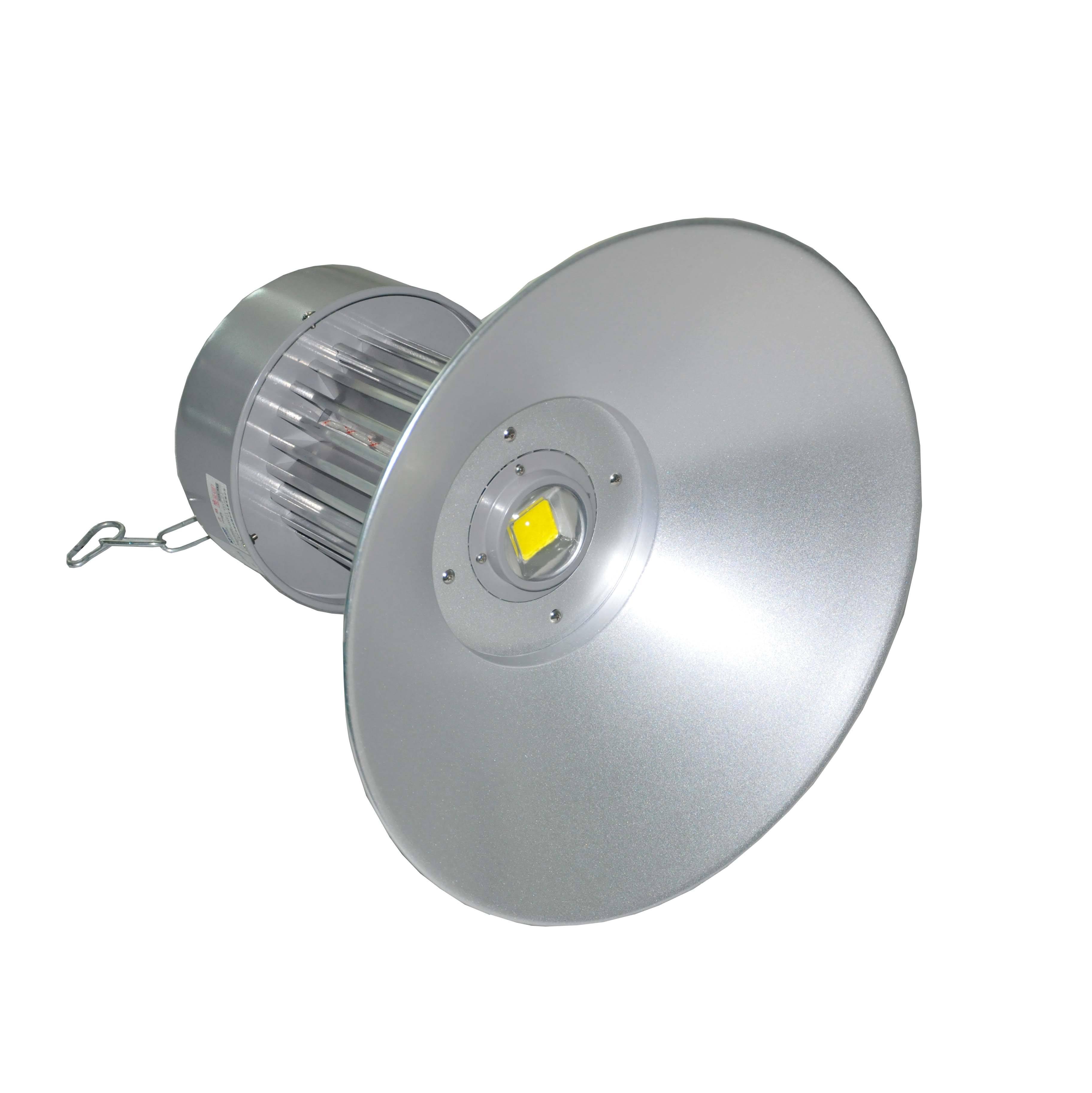 珠海100w仓库工程灯报价 100w集成大功率led节能工矿灯厂家 厂房照明吊装式工厂灯