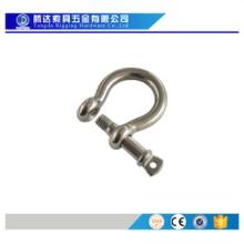 工厂生产304 316马蹄扣 弓型卸扣 不锈钢登山扣 伞绳手链配件