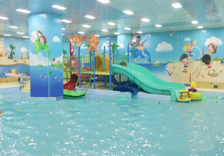 儿童水上滑梯-水上游乐园儿童滑梯