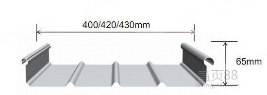 秦皇岛宝骏铝镁锰屋面板YX65-430厂家直销|铝镁锰YX65-430
