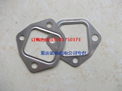 排气管衬垫142234康明斯NT855-C280-SD7发动机排气管衬垫