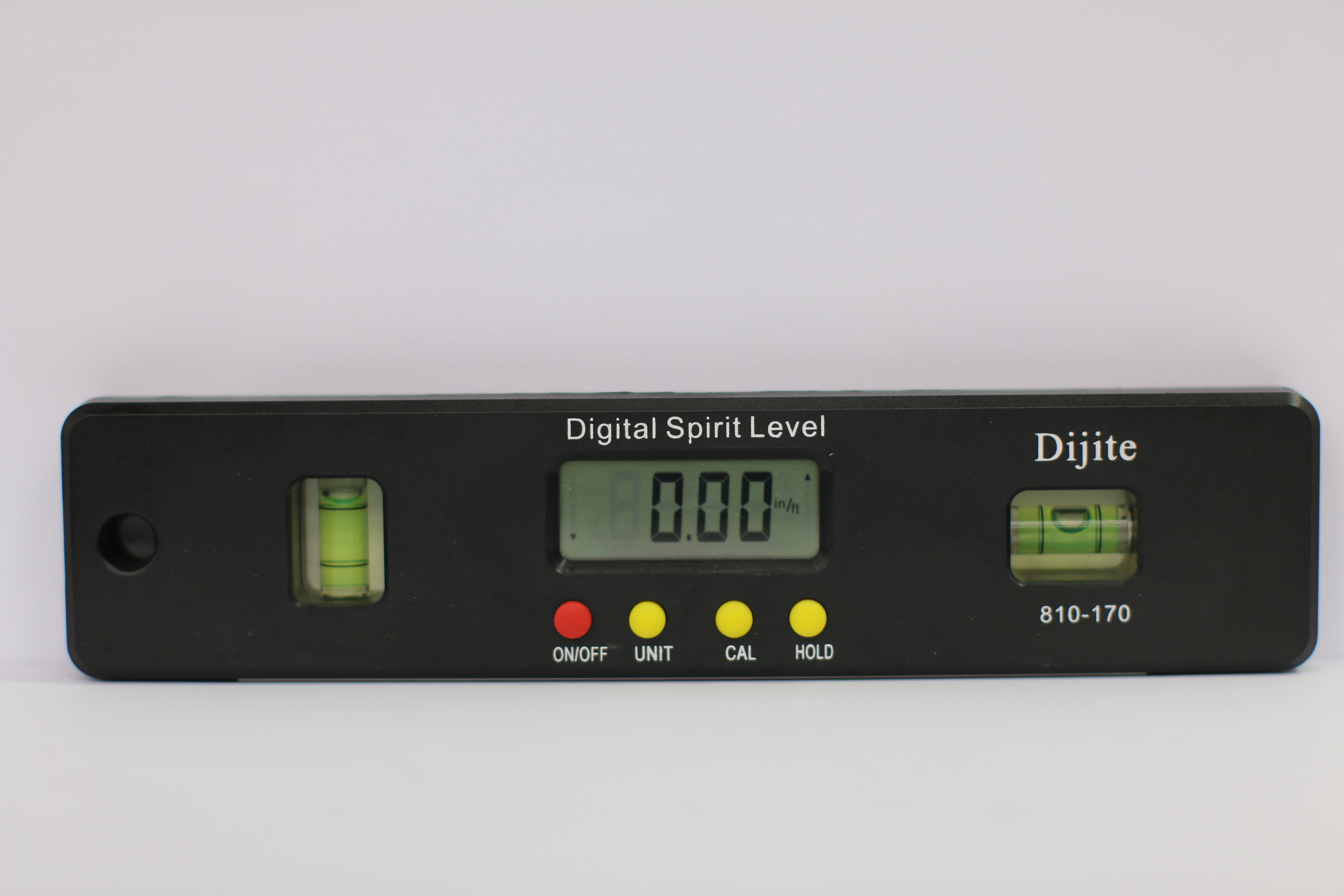 Dijite电子数显水平仪水平尺量具量仪角度仪200mm  四种单位转换