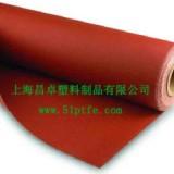 供应硅橡胶布 红色硅橡胶布