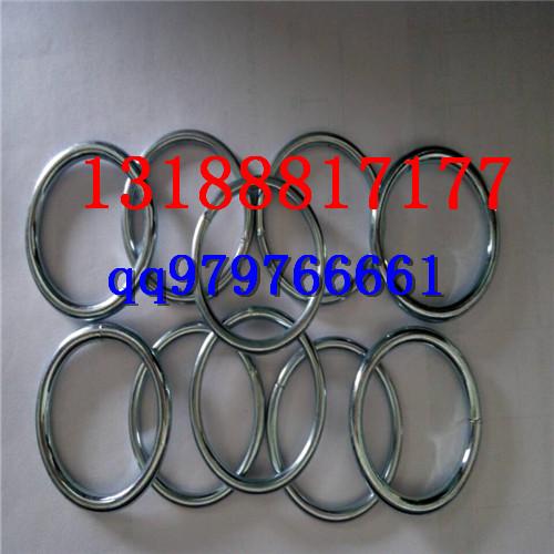 箱包配件铁环 焊接圆环 镀锌铁圈奥科订做各类尺寸