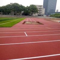 厂家直销13mm透气型塑胶跑道材料 贵州透气型塑胶跑道施工