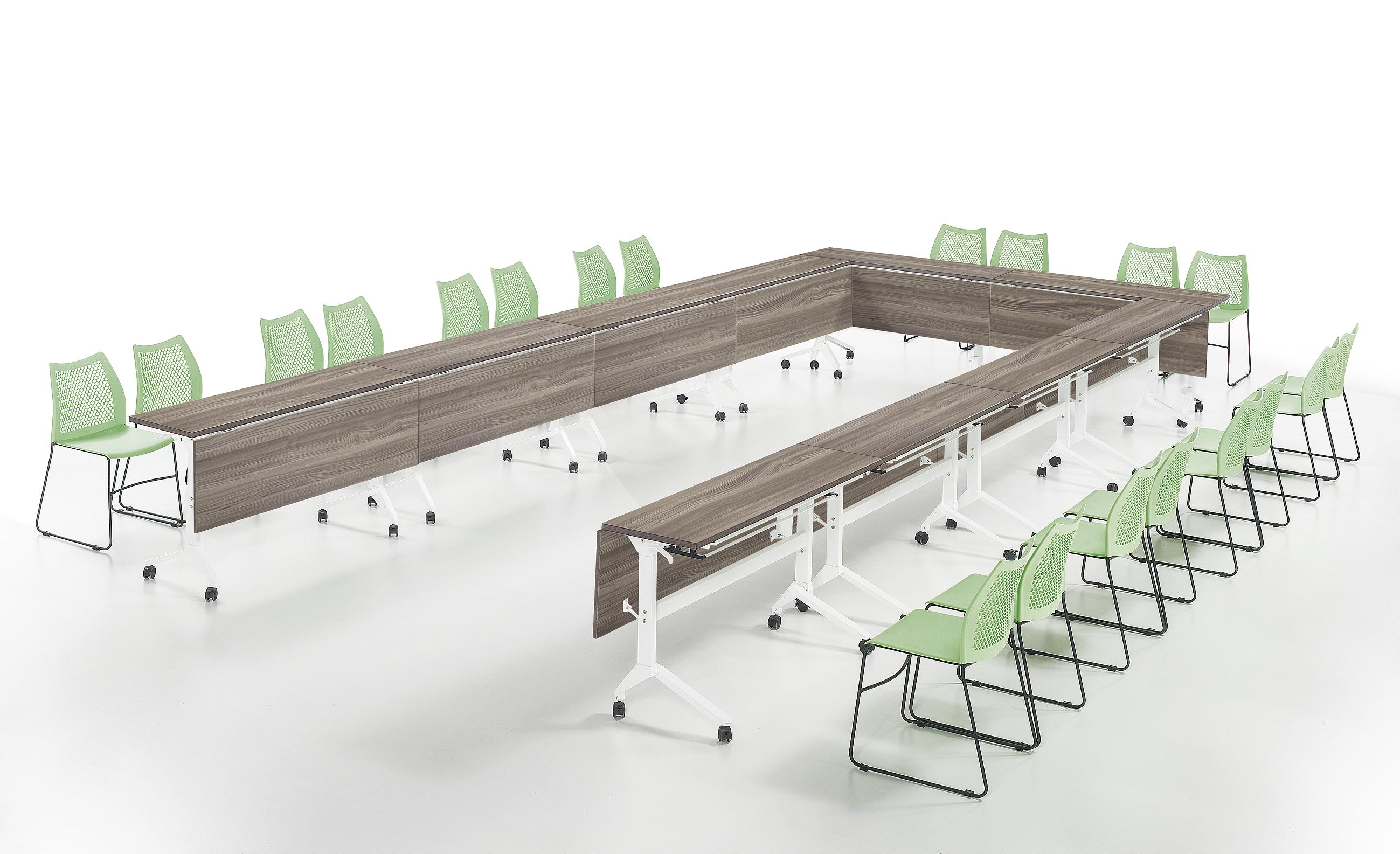 重庆厂家定制定做批发价格出售前台接待洽谈桌 屏风办公桌