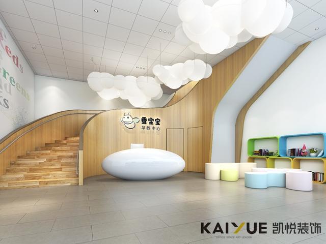 有形态和理念的早教中心室内设计-教育机构