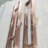 供应304不锈钢方管拉手厂家批发_高档玻璃门大门拉手