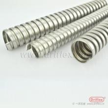 国标金属软管 穿线镀锌管 单扣电线电缆保护管 单勾镀锌金属软管批发