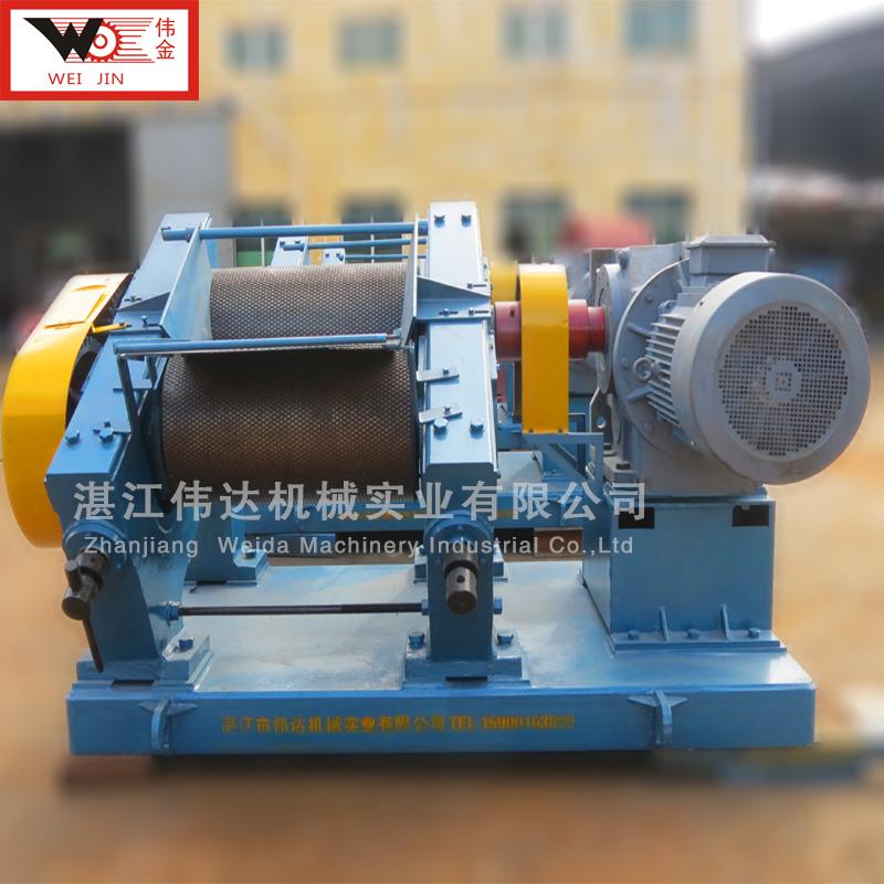 橡胶绉片机可定制 伟金 橡胶机械标准胶加工除杂设备 单机多机都可用