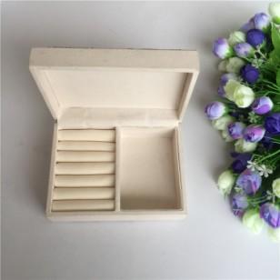 印刷布首饰木盒图片