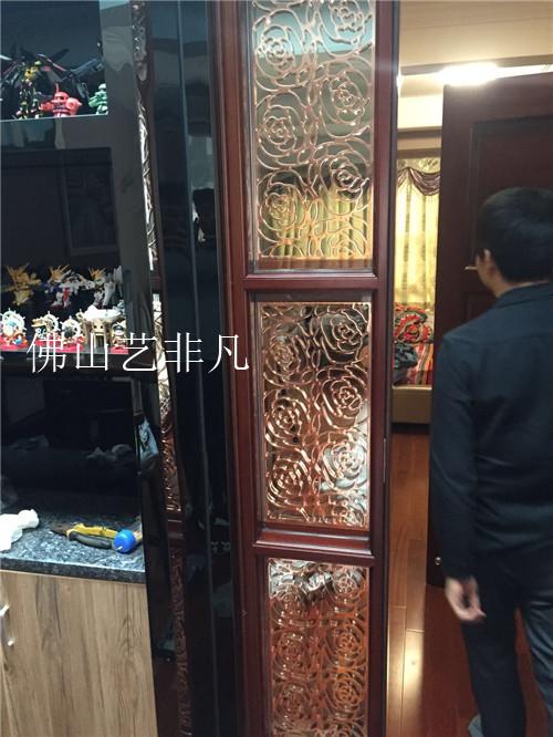 株洲拾尚红铝艺屏风定制厂家直销 雕刻屏风 中式屏风 欧式