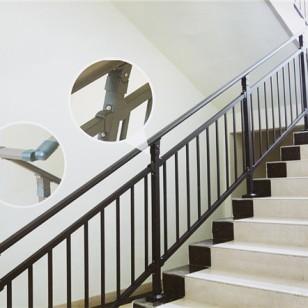 南阳玻璃楼梯护栏,喷塑楼梯扶手图片