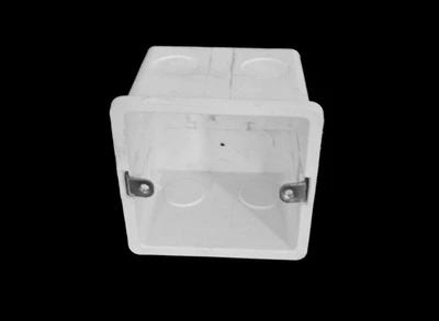 供应商钉盒_pvc阻燃60冲孔线盒价格多少