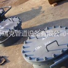 蒂瑞克厂家直销DN500 垂直吊盖板式平焊法兰人孔 常压旋柄快开人孔图片