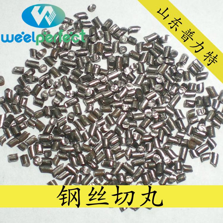 山东普力特公司 厂家直销 钢丝切丸 铸钢丸免费拿样 钢丝切丸钢丸