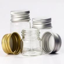 供应管制玻璃瓶批发商 铝盖玻璃瓶 金属盖玻璃瓶 样品包装瓶图片