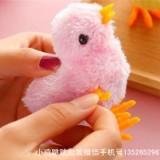 小鸡跳跳玩具小鸡  发条毛绒小鸡生产厂家