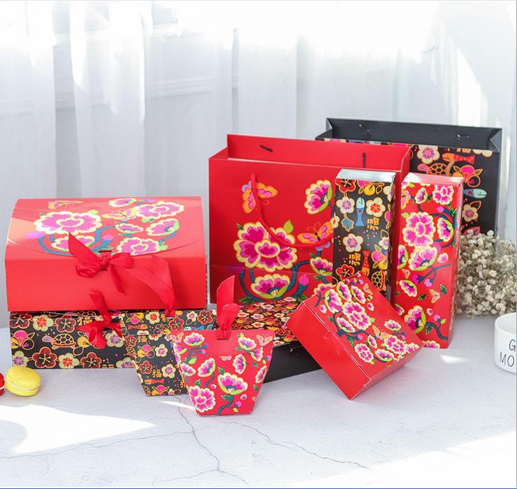 饼干盒  厂家直销饼干盒 韩版创意春节礼品盒饼干盒套装 丝巾饰品包装盒糖果喜糖礼品纸盒