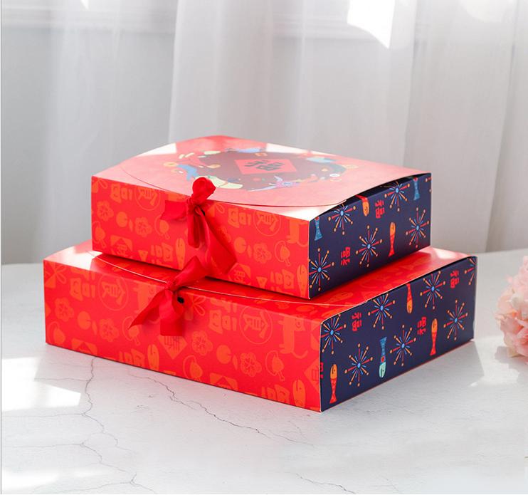 礼品纸盒 厂家直销礼品纸盒  韩版创意礼品盒饼干盒丝巾饰品包装盒彩色糖果喜糖礼品纸盒S855