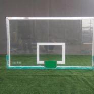 深圳篮球板钢化玻璃篮球板更换篮板图片