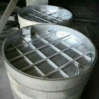 不锈钢圆形井盖 圆形装饰井盖