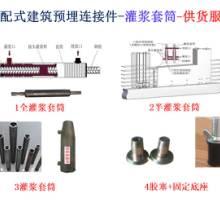 裝配式建筑用灌漿套筒生產廠家圖片