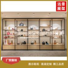供应童鞋展示柜 童装货架展示柜定制 钢木结构欧式风格展柜专卖店批发