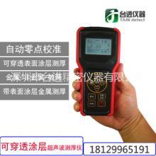 可穿透涂层超声波测厚仪 便携式金属/非金属厚度测量仪 穿越涂层厚度测量仪CTG-300批发