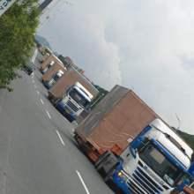 供应深圳精益平板柜运输平板车运输批发