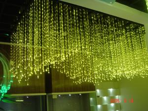 厂家LED光纤灯现代灯后现代新款时尚简约大方美式北欧款 美丽的风格设计 LED满天星 LED光纤吊灯