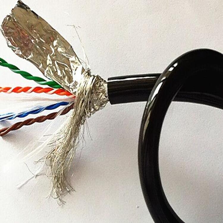 拖链网线 8芯高柔性拖链专用网线 超五类双屏蔽耐油耐弯曲柔性拖链网线