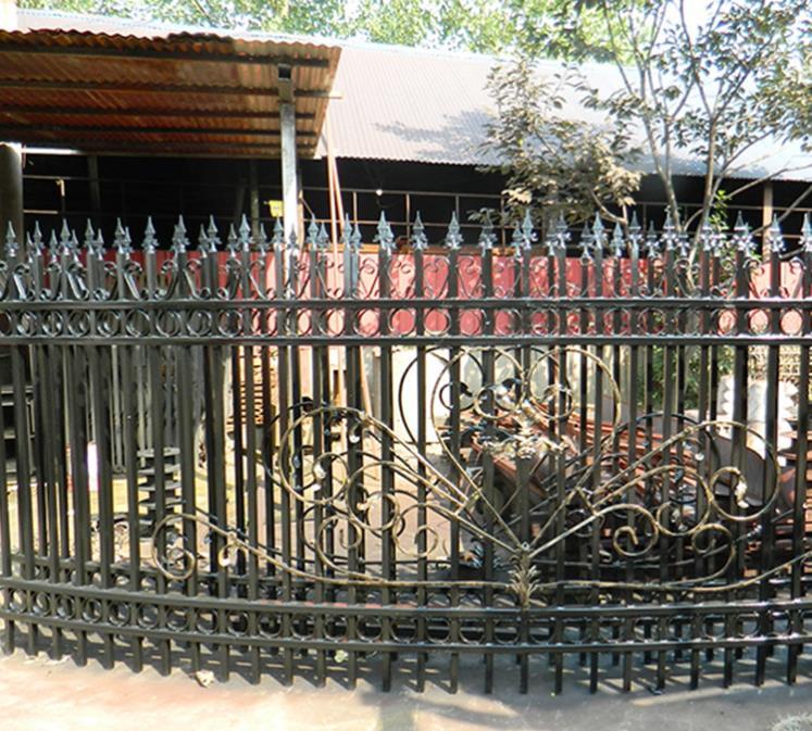 铁艺护栏的用途