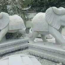 山东石雕大象 石雕大象供应商 济宁石雕大象厂家 石雕大象石大象图片
