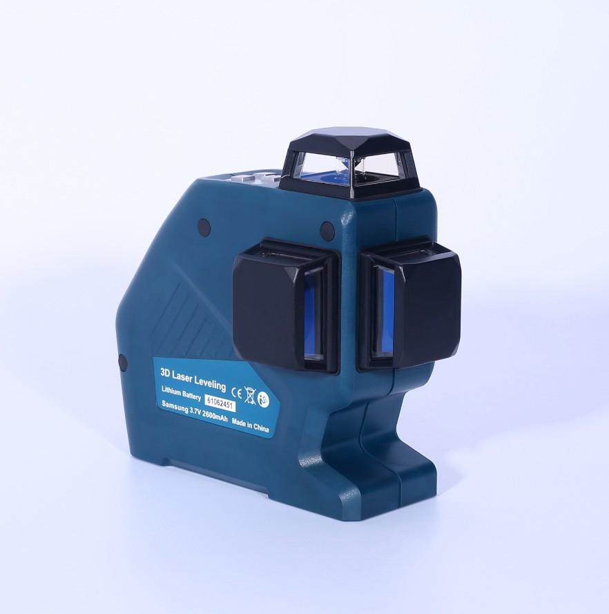 度维dovoh12线贴墙仪DLL3-360精准线体明亮耐电防摔防水建筑工必备 12线激光水平仪DLL3-360