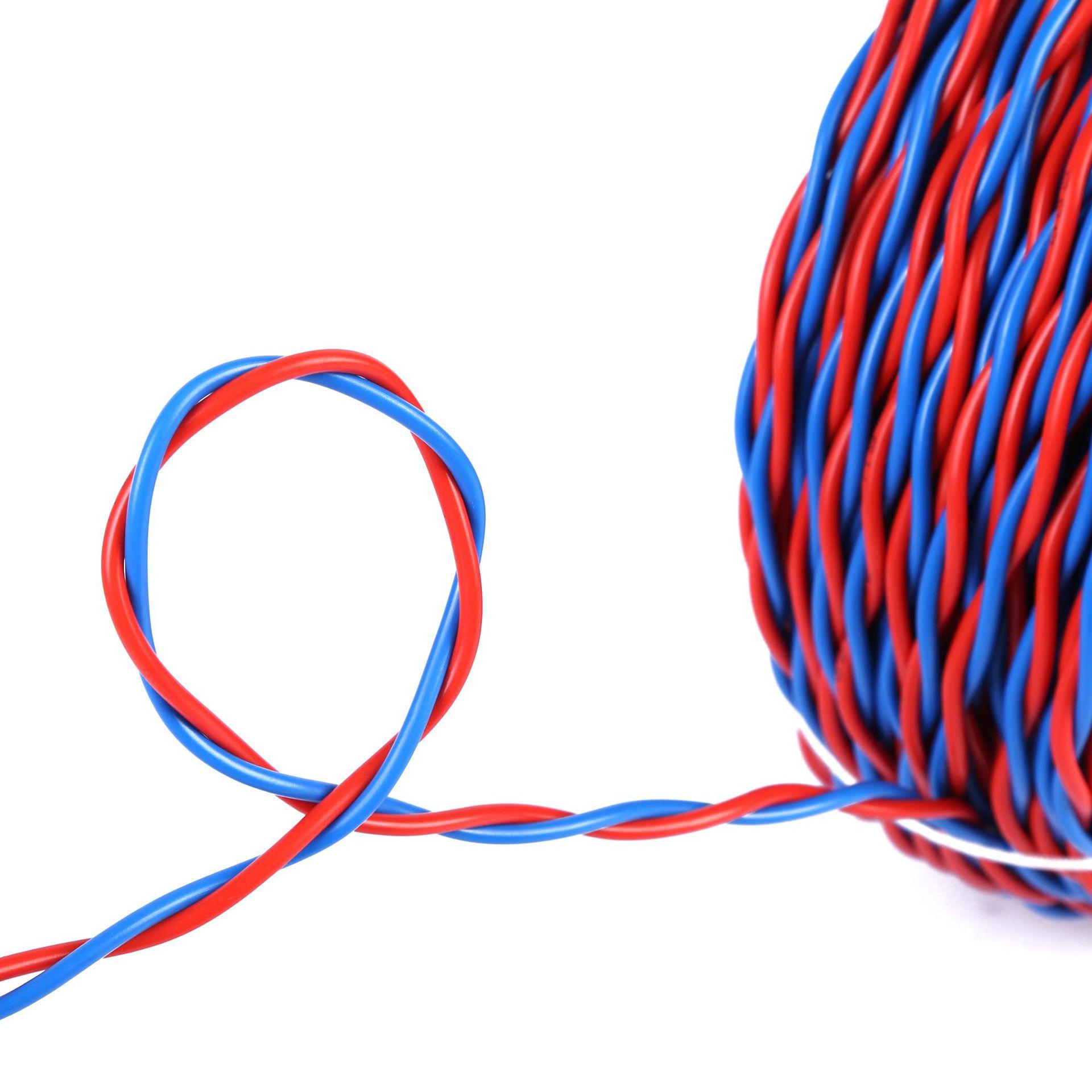 纯铜双绞线rvs 金环宇电线电缆 花线阻燃国标纯铜双绞线rvs2x4 家装用电线