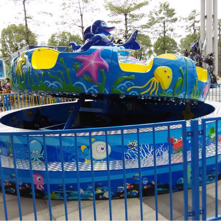 德州游乐设备厂家新型游乐设备海洋磨盘价格优惠 公园海洋磨盘