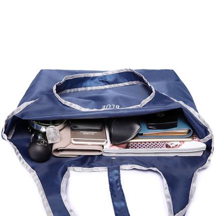 可折叠购物袋买菜大容量超市环保袋折叠手提袋便携小袋尼龙